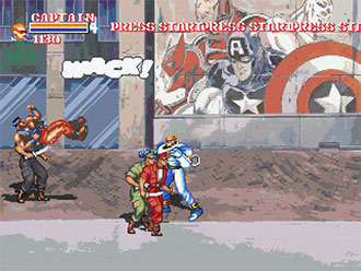Captain Commando and the Avengers