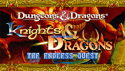 Portada de la descarga de Knights & Dragons: The Endless Quest