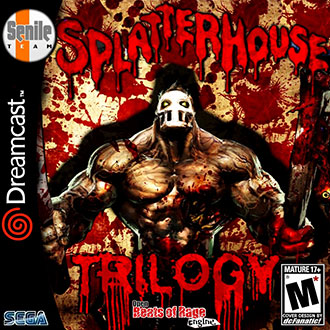 Portada de la descarga de Splatterhouse Trilogy