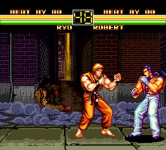 Imagen de la descarga de Art of Fighting