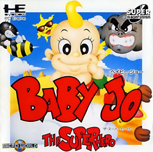 Carátula del juego Baby Jo The Super Hero (PC ENGINE CD)
