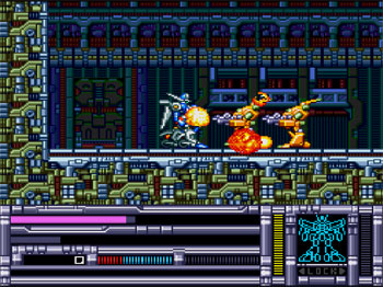 Pantallazo del juego online Blood Gear (PC ENGINE CD)