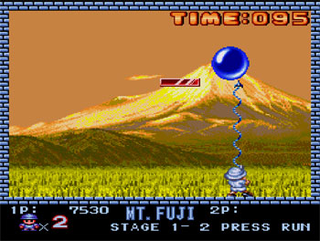 Pantallazo del juego online Buster Bros (PC ENGINE-CD)