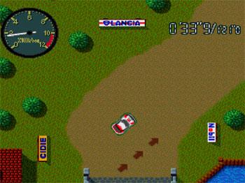 Pantallazo del juego online Championship Rally (PC ENGINE-CD)