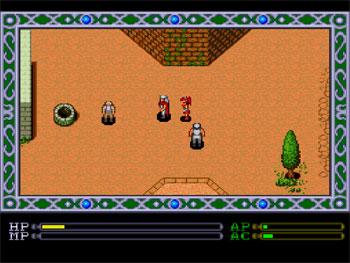 Pantallazo del juego online Exile (PC ENGINE CD)