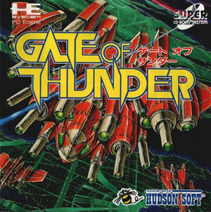 Carátula del juego Gate of Thunder (PC ENGINE CD)