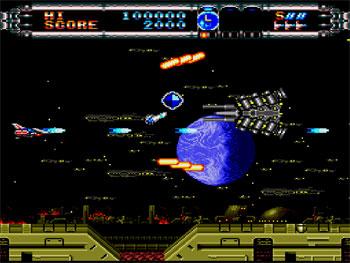 Pantallazo del juego online Gate of Thunder (PC ENGINE CD)