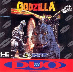 Carátula del juego Godzilla (PC ENGINE CD)