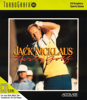 Carátula del juego Jack Nicklaus' Turbo Golf (PC ENGINE CD)