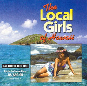 Juego online The Local Girls of Hawaii (PC ENGINE CD)