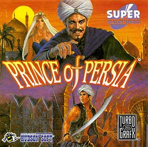 Juego online Prince of Persia (PC ENGINE CD)