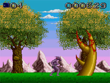 Pantallazo del juego online Shadow of the Beast (PC ENGINE CD)