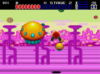Imagen de la descarga de Space Fantasy Zone