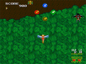 Pantallazo del juego online Sylphia (PC ENGINE-CD)