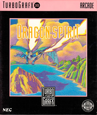 Portada de la descarga de Dragon Spirit