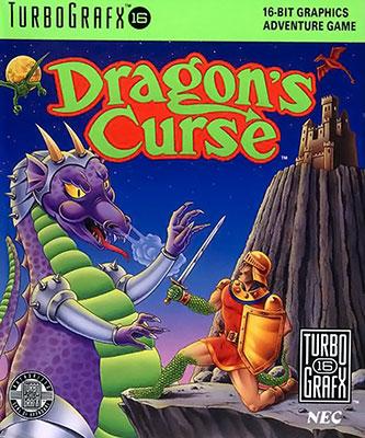 Portada de la descarga de Dragon's Curse
