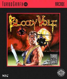 Portada de la descarga de Bloody Wolf