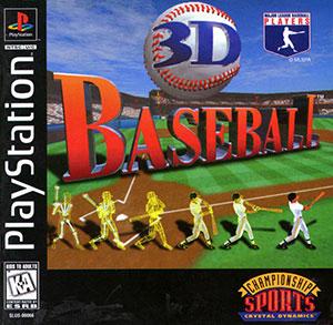 Portada de la descarga de 3D Baseball