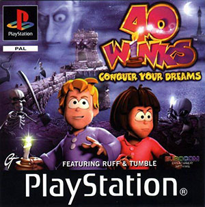 Portada de la descarga de 40 Winks