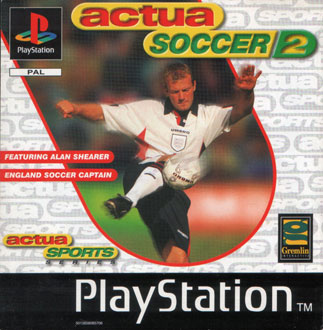 Portada de la descarga de Actua Soccer 2