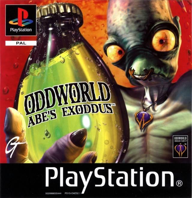 Portada de la descarga de Oddworld: Abe's Exoddus