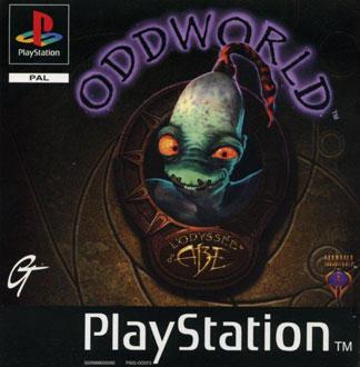 Carátula del juego Oddworld Abe's Oddysee (PSX)