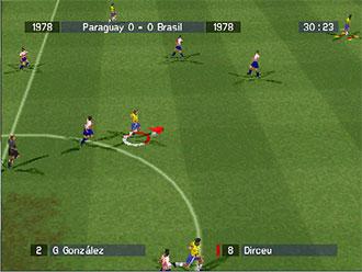 Pantallazo del juego online Absolute Football (PSX)