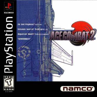 Portada de la descarga de Ace Combat 2