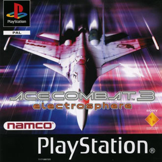 Portada de la descarga de Ace Combat 3: Electrosphere