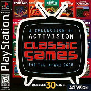 Juego online A Collection of Activision Classic Games for the Atari 2600 (PSX)