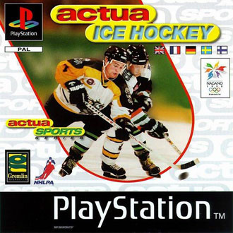 Portada de la descarga de Actua Ice Hockey