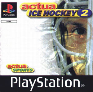 Portada de la descarga de Actua Ice Hockey 2