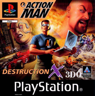 Portada de la descarga de Action Man: Destruction X