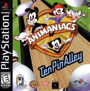 Portada de la descarga de Animaniacs: Ten Pin Alley