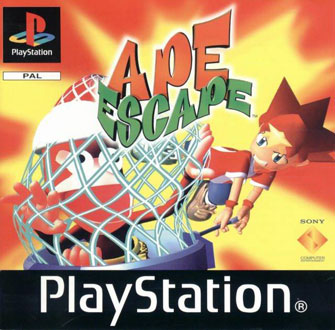 Portada de la descarga de Ape Escape