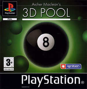 Juego online Archer Maclean's 3D Pool (PSX)