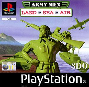Portada de la descarga de Army Men: Land Sea Air