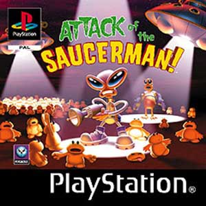 Portada de la descarga de Attack of the Saucerman