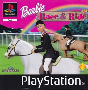 Portada de la descarga de Barbie Race & Ride