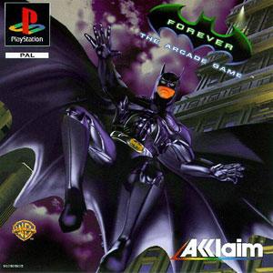 Carátula del juego Batman Forever The Arcade Game (PSX)