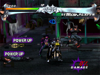 Pantallazo del juego online Batman Forever The Arcade Game (PSX)