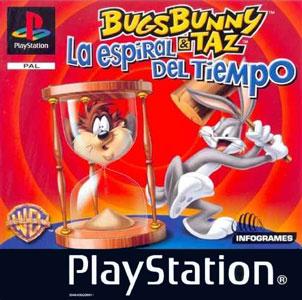 Portada de la descarga de Bugs Bunny & Taz: La Espiral del Tiempo