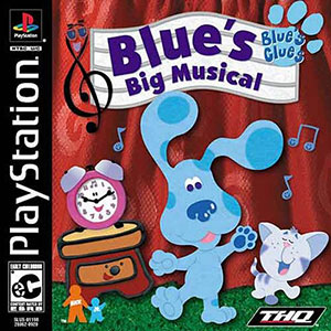 Juego online Blue's Clues: Blue's Big Musical (PSX)