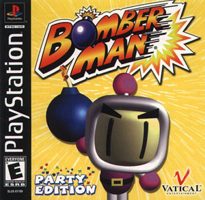 Portada de la descarga de Bomberman Party Edition
