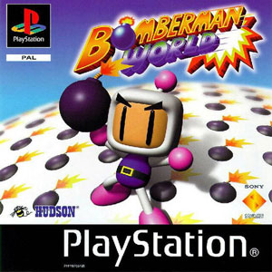 Portada de la descarga de Bomberman World