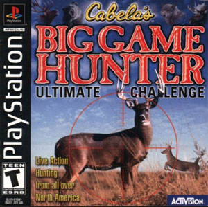 Portada de la descarga de Cabela's Big Game Hunter: Ultimate Challenge