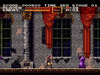 Pantallazo del juego online Castlevania Chronicles (PSX)
