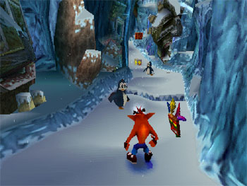 Pantallazo del juego online Crash Bandicoot 2 Cortex Strikes Back (PSX)