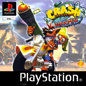 Portada de la descarga de Crash Bandicoot 3: WARPED