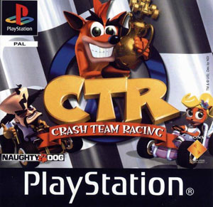 Carátula del juego CTR (Crash Team Racing) (PSX)